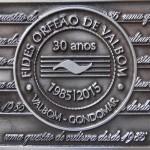 Medalha 30 anos FIDES, cunhada em 2016
